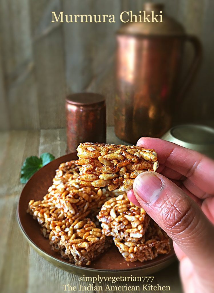 2 Ingredients Easy Quick Murmura Chikki Recipe