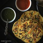 Vegan Omelette is a simple,easy and flavorful recipe made with Chickpea Flour. It is called Omelette because of its soft and fluffy texture that is similar to the one made with eggs. The best part is that it is Gluten free as well. #veganbrunch #veganmeal #veganbreakfast #veganomelette #eggfreerecipes #egglessrecipes #chickpeaflourrecipes #besan #glutenfreerecipes #glutenfreebrunch #meatlessmeals #meatfreebrunch #meatlesseasterrecipes #omelette