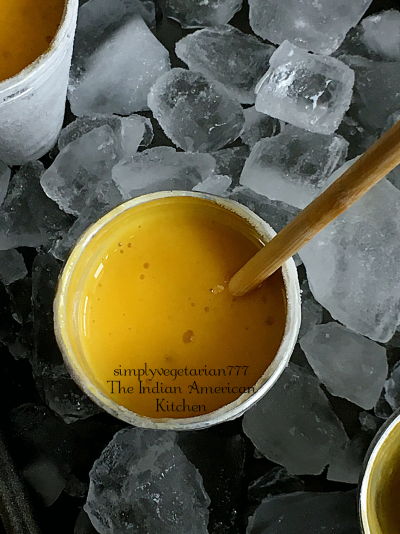 This Mango Kulfi No CookRecipe is a perfectSUMMER TREAT. The best part is that it is made with just 3 ingredients and is super EASY + DELICIOUS. Make it for your family or make it to entertain your guests. You will make it again and again. It is that stupendously easy. #mangokulfi #kulfi #icecream #indiandessert #mangorecipes #condensedmilk