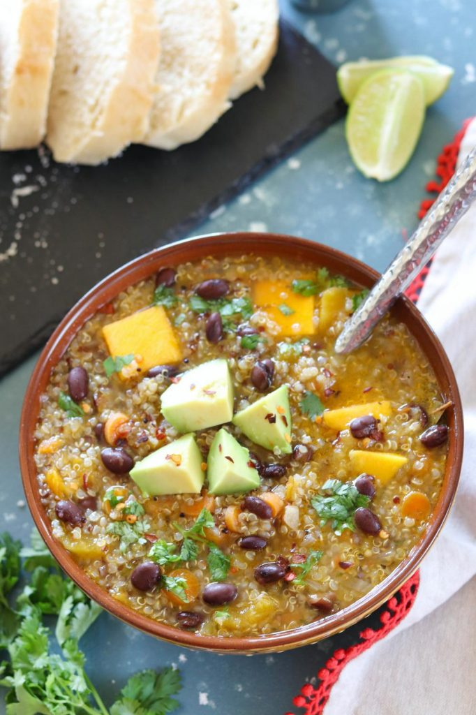 Butternut Squash Quinoa Stew