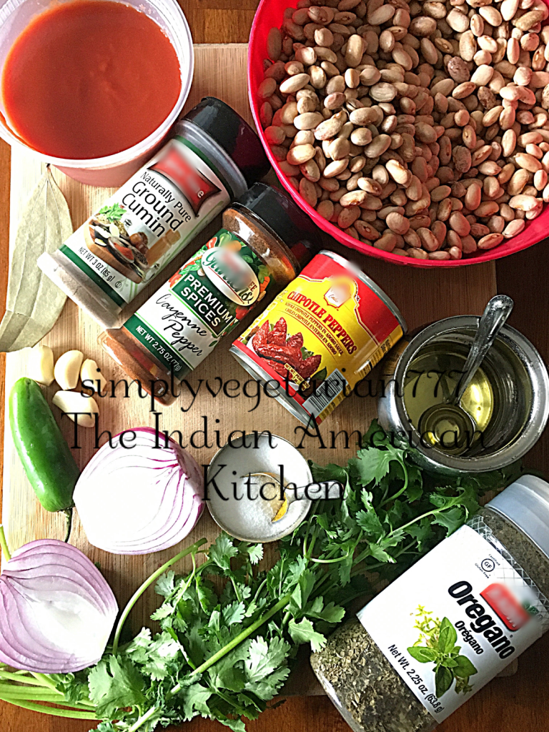 Instant Pot Mexican Pinto Beans are delicious and so easy to make. These are perfect either as a side to a meal or as a Mexican Bean Soup. Cooking these in Instant Pot is effortless. #instantpotrecipes #instantpotvegan #instantpotbeans #mexicanpintobeans #frejolescontodo #frijolescontodo #plantbased