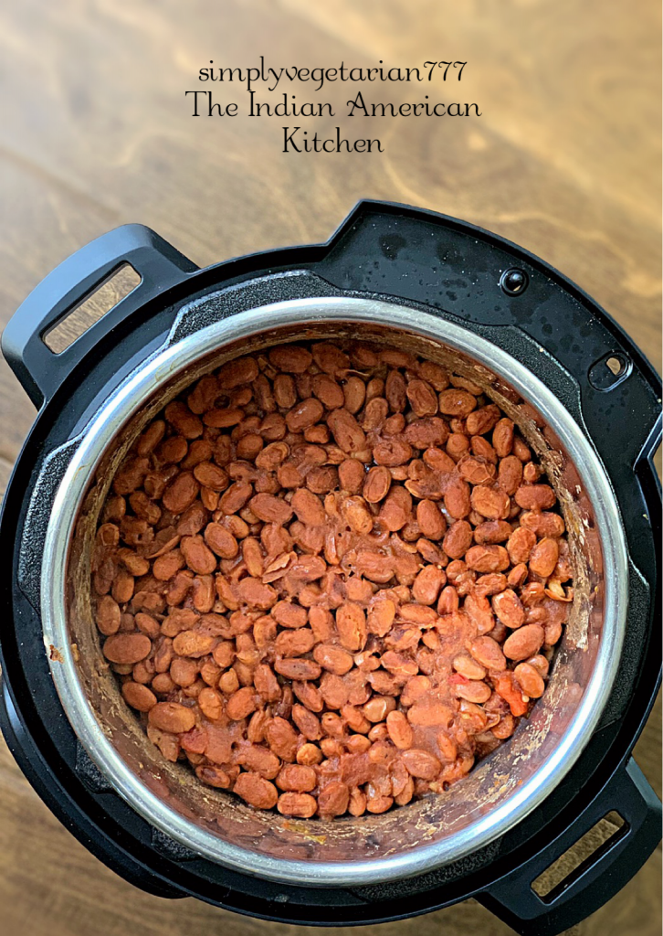 This 3 Ingredients Refried Beans Instant Pot Recipe is a keeper recipe. All the Tex Mex food lovers will love this VEGAN REFRIED BEANS recipe. It is quick, easy and needs no prep at all. Just dump it all in your Instant Pot and you have the best REFRIED BEANS ever. #instantpotrefriedbeans #veganrefriedbeans #mexicanbeans #easybeans #pintobeans