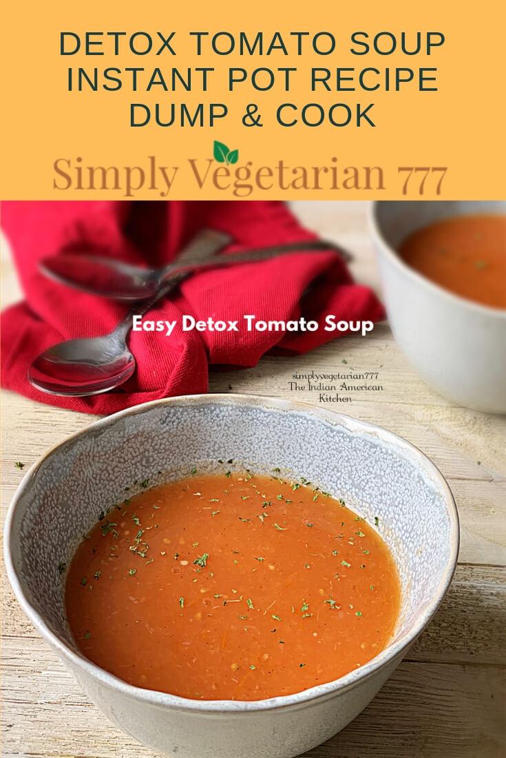 Easy Detox Soup Recipe