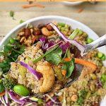 How to make Vegan Asian Quinoa Salad?