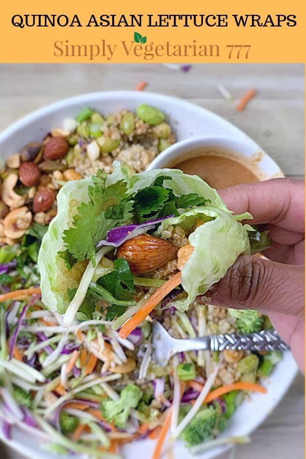 How to make Vegan Lettuce Wraps?