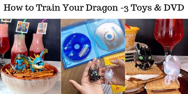 What comes inside the How to train your dragon DVD Set?