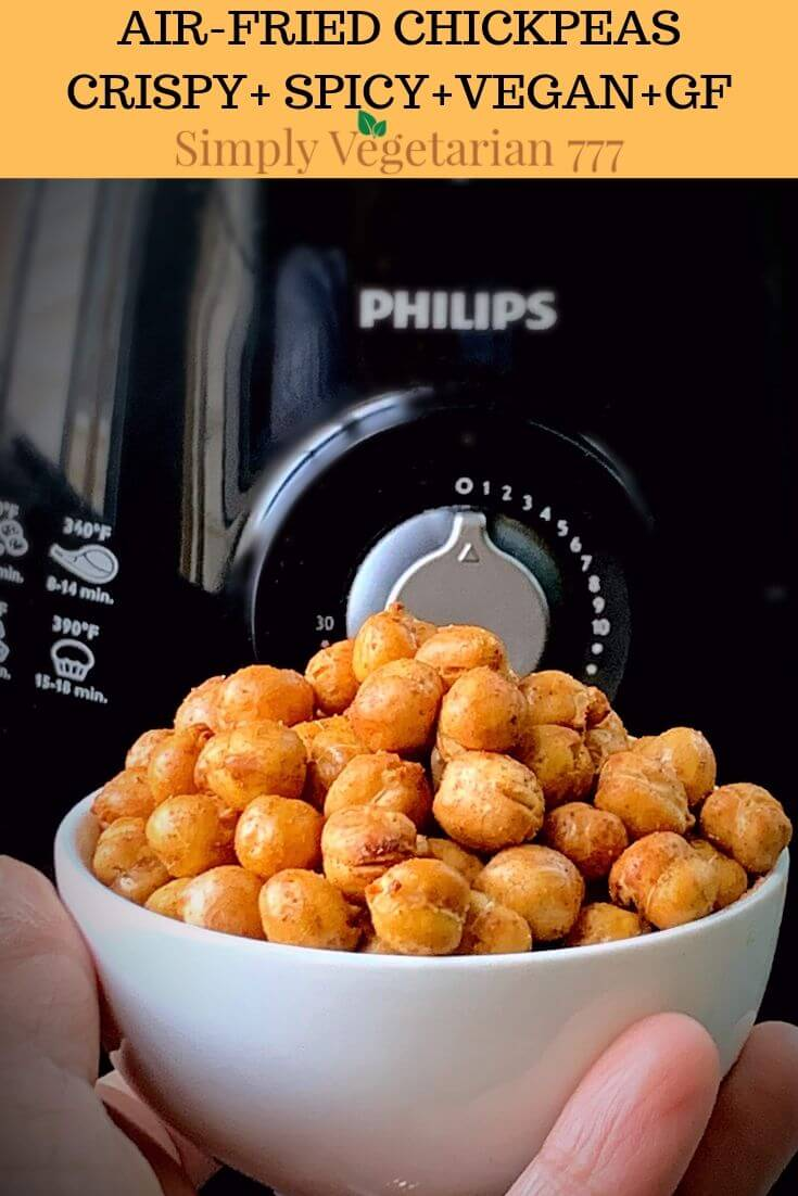 how to make crispy chickpeas in air fryer