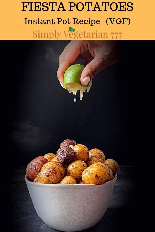 Baby Potato Medley in Instant Pot