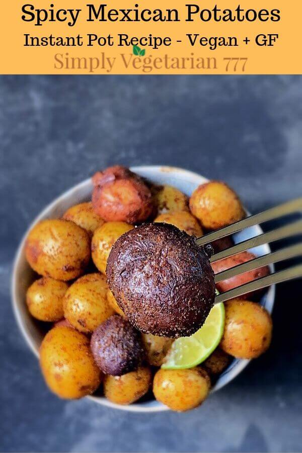 Spicy Mexican Potatoes