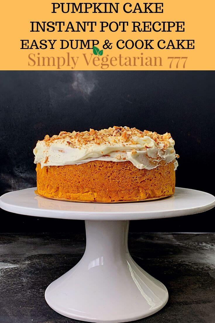 What is Pumpkin Spice Cake