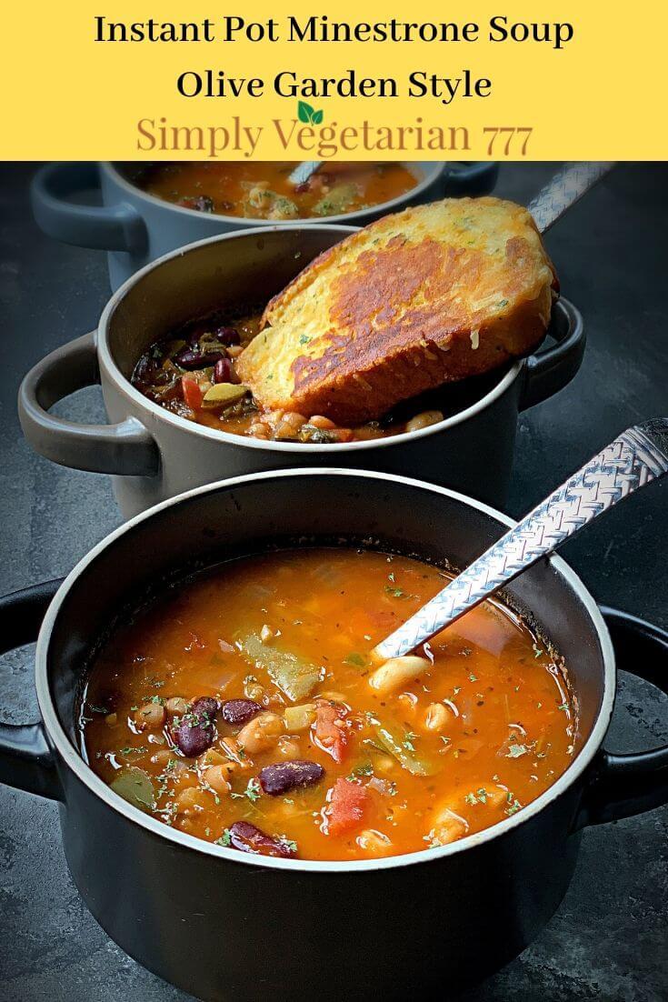 Olive Garden Style Minestrone Soup Recipe