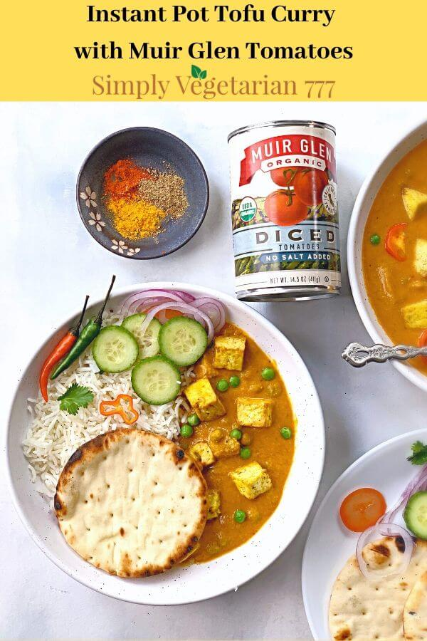 how to make vegan curry in instant pot