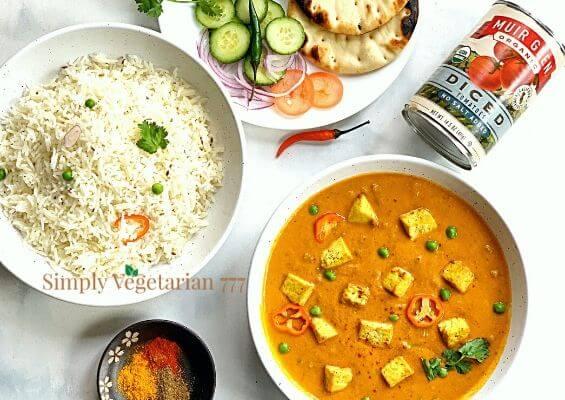 Vegan Tofu Curry in Instant Pot