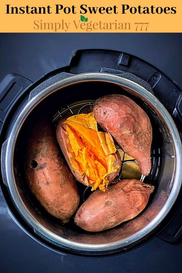 how to make sweet potato in instant pot