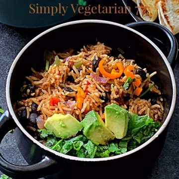 Tex Mex Rice and Beans Recipe
