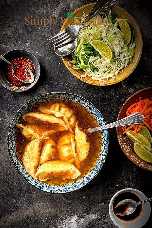 asian wonton soup recipe