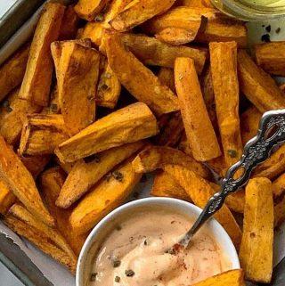Healthy Air Fryer Sweet Potato Fries