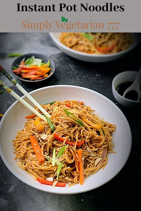 How to make vegetable lo-mein?