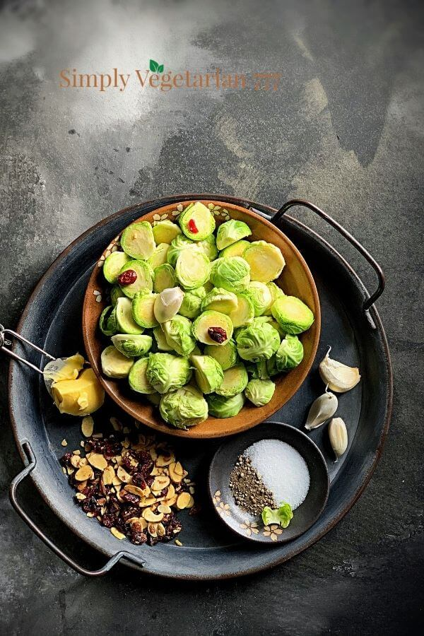 Instant pot brussels sprout ingredients