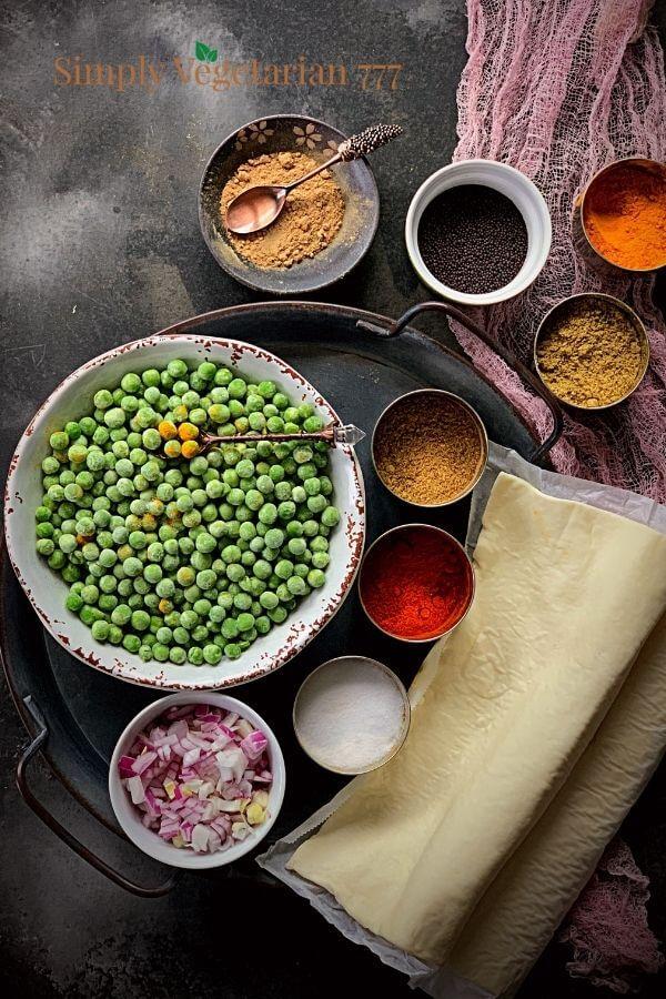 Peas Puffs Ingredients