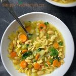 """Chicken"" Vegetable Noodle Soup"