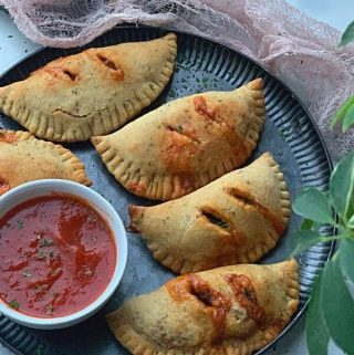 air fryer mini calzones recipe