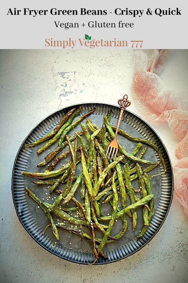 Air Fryer Green Beans Recipe