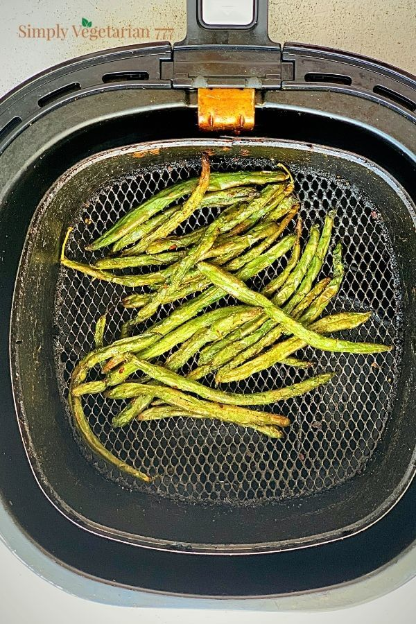 air fried green beans
