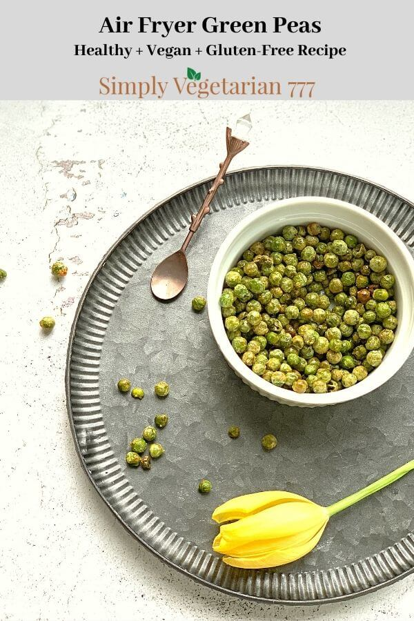 How to air fry Green Peas?