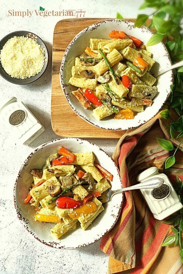 how to make pesto pasta?