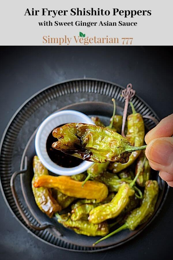 Air Fryer Shishito Peppers Recipe
