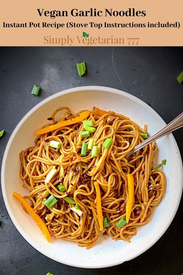 how to make Garlic Noodles