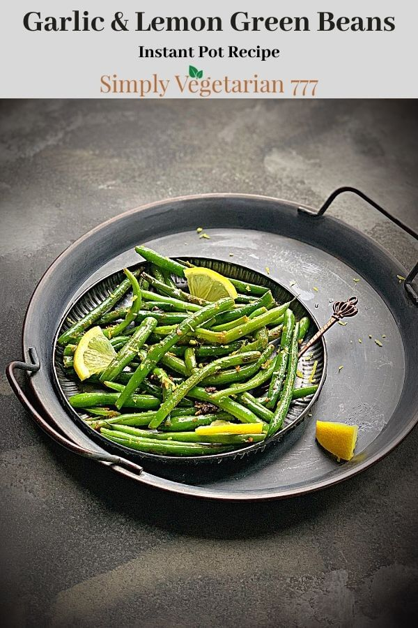 How to make Green Beans in Instant Pot?