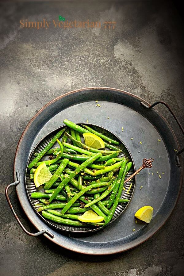 how to steam green beans in instant pot?