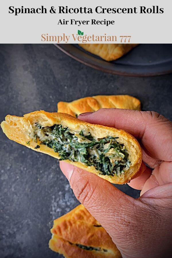 Crescent Rolls with Spinach & Ricotta Filling