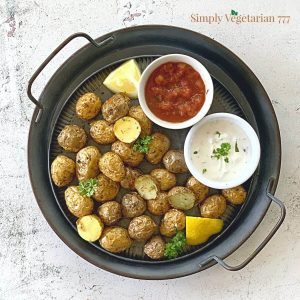 how to make baby potatoes in air fryer?
