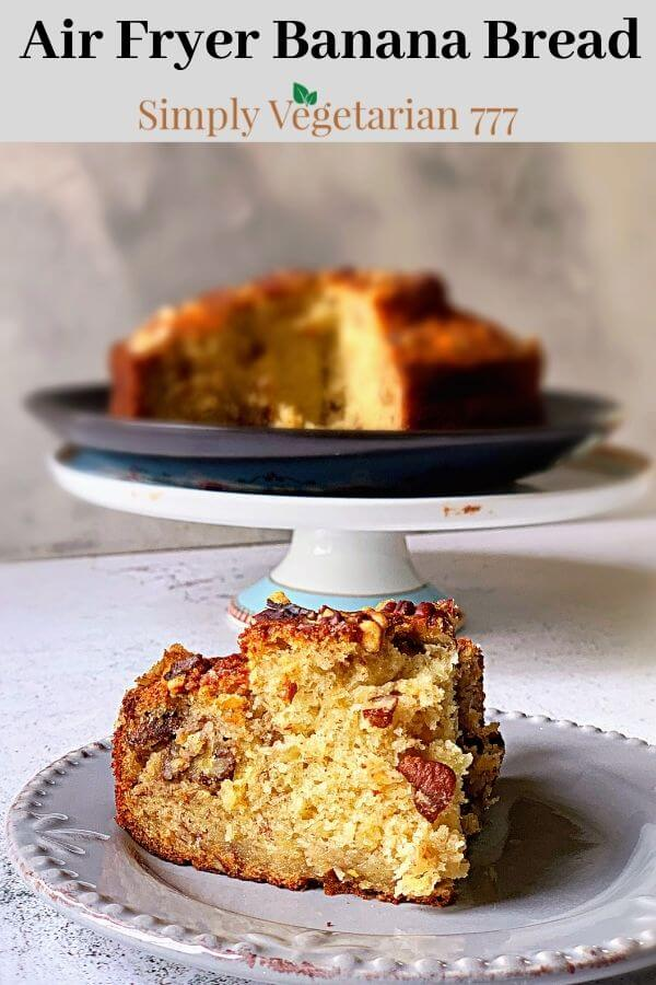how to make banana bread in air fryer?