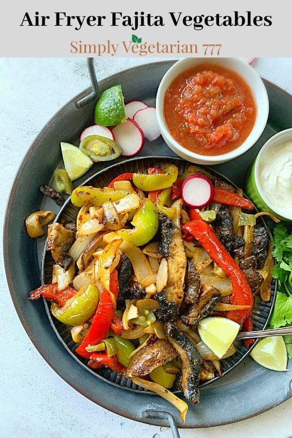Air Fryer Veggies for Fajitas