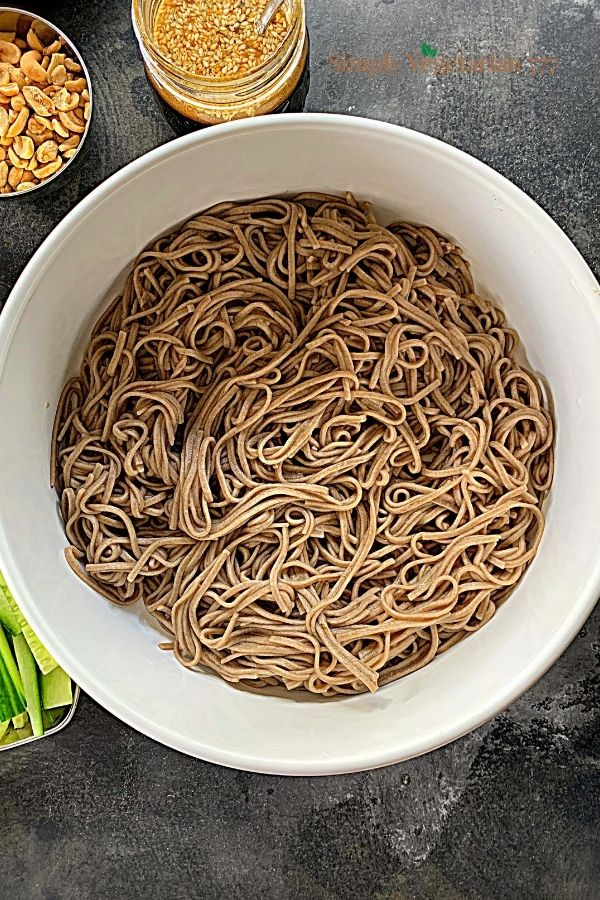 How to cook soba noodles?