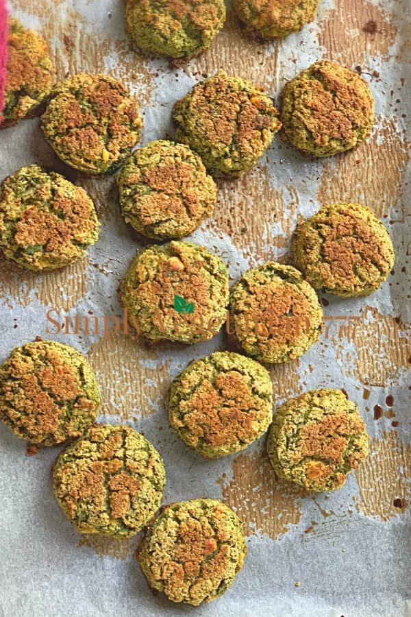 Oven Baked Falafel
