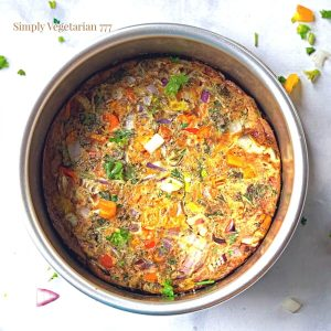 How to make frittata in air fryer?