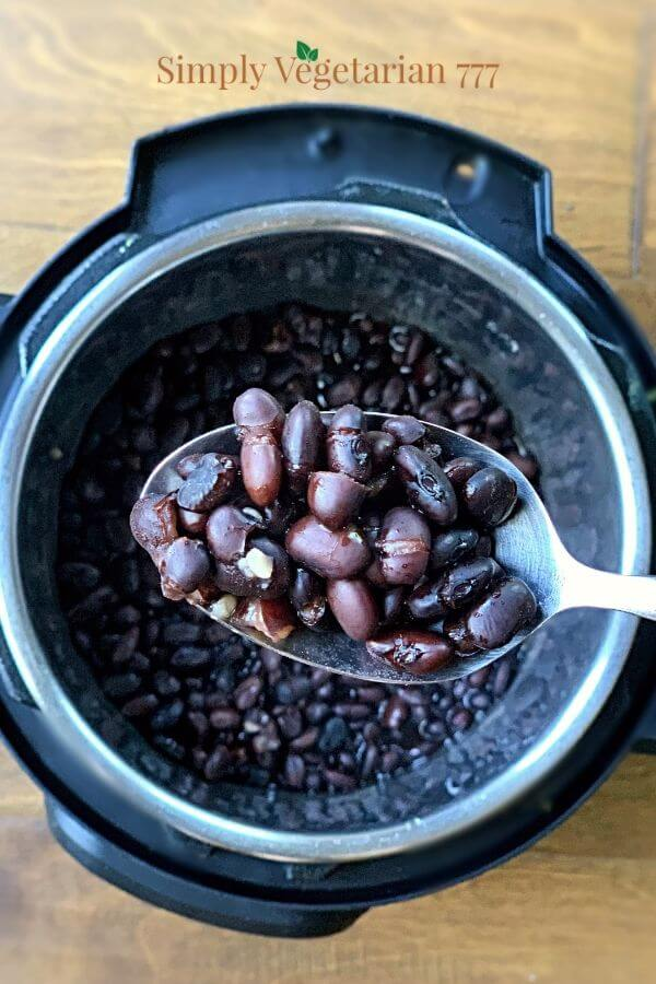 How to cook black bean in instant pot?