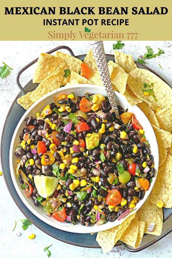 South Western Black Bean Salad