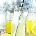 homemade lemonade
