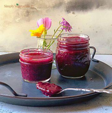 how to make sugar free jam?