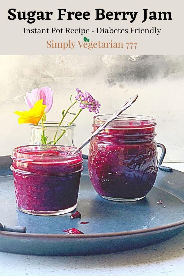 No Sugar Berries Jam Recipe
