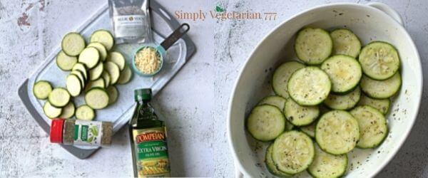 what are zucchini parmesan chips ingredients?