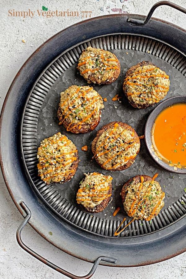 Air Fryer Vegetarian Snack